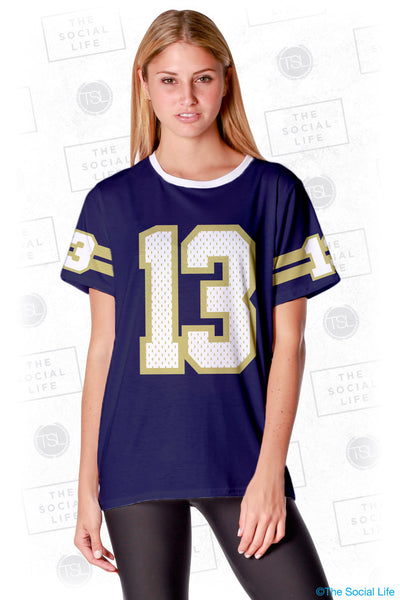 Phi Sigma Sigma Established Jersey Tee