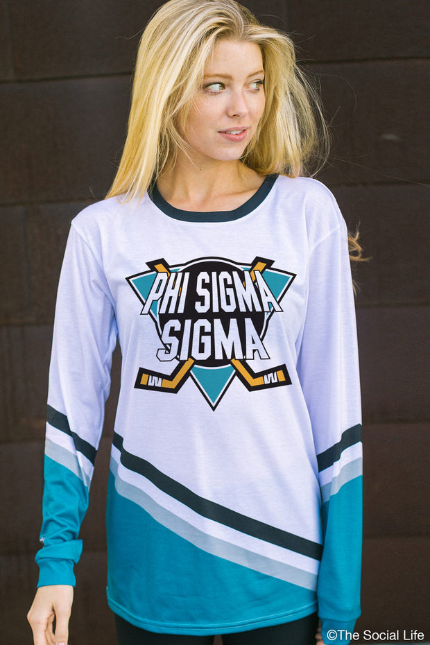 Phi Sigma Sigma Mighty Hockey Long Sleeve