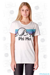Phi Mu Summit Scoop Tee