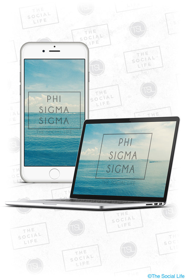 Phi Sigma Sigma Wallpaper Pack 1