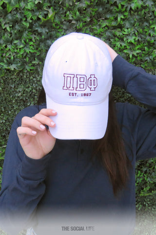 Sorority Dad Hats! – The Social Life 778b63be87c