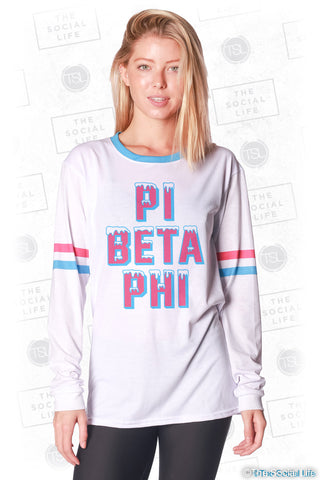 Pi Beta Phi Frosted Long Sleeve