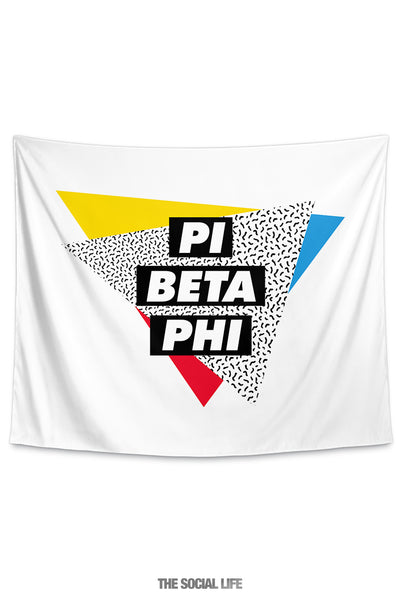 Pi Beta Phi Graphy Tapestry