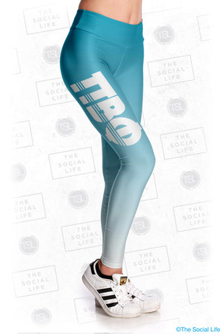 Pi Beta Phi Fade Leggings