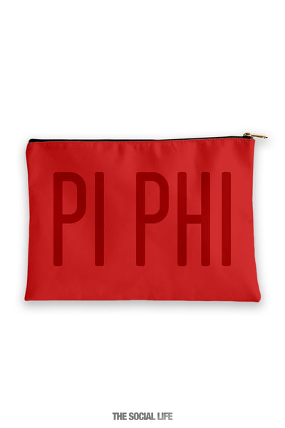 Pi Beta Phi Primary Cosmetic Pouch