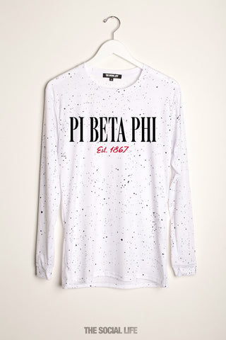 Pi Beta Phi Retrospeck Long Sleeve