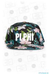 Pi Beta Phi Custom Pattern Snapback