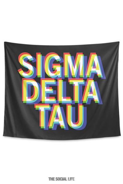 Sigma Delta Tau 3D Vision Tapestry