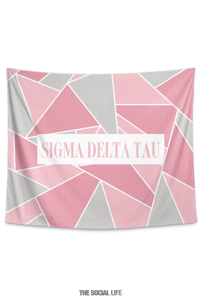 Sigma Delta Tau Mosaic Tapestry