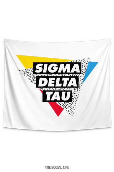 Sigma Delta Tau Graphy Tapestry