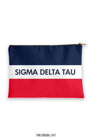Sigma Delta Tau Merci Cosmetic Bag