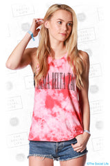 Sigma Delta Tau Marble Muscle Tank
