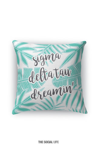 Sigma Delta Tau Dreamin' Pillow