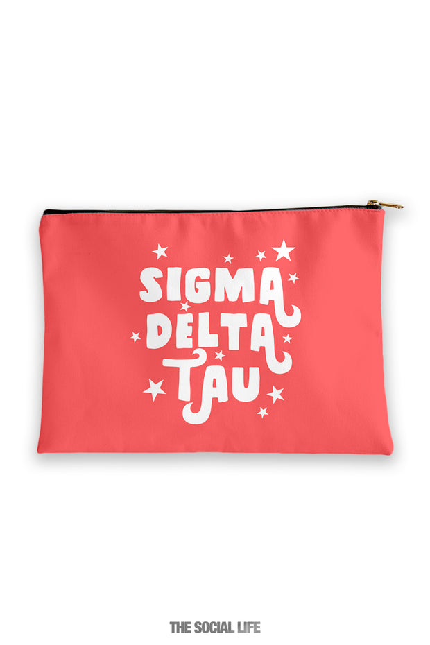 Sigma Delta Tau Pixie Cosmetic Bag