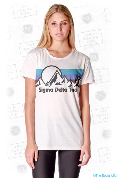Sigma Delta Tau Summit Scoop Tee