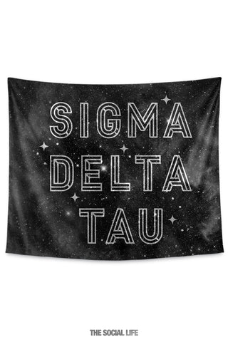 Sigma Delta Tau Twinkle Tapestry