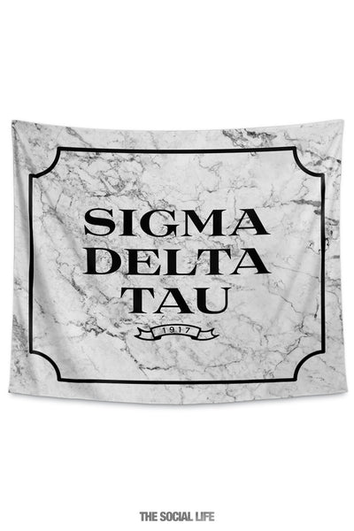 Sigma Delta Tau Milano Marble Tapestry
