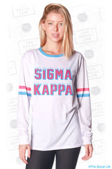 Sigma Kappa Frosted Long Sleeve