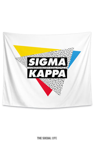 Sigma Kappa Graphy Tapestry
