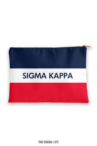 Sigma Kappa Merci Cosmetic Bag