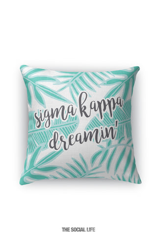 Sigma Kappa Dreamin' Pillow