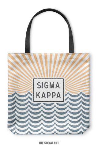 Sigma Kappa Sunshine Tote Bag