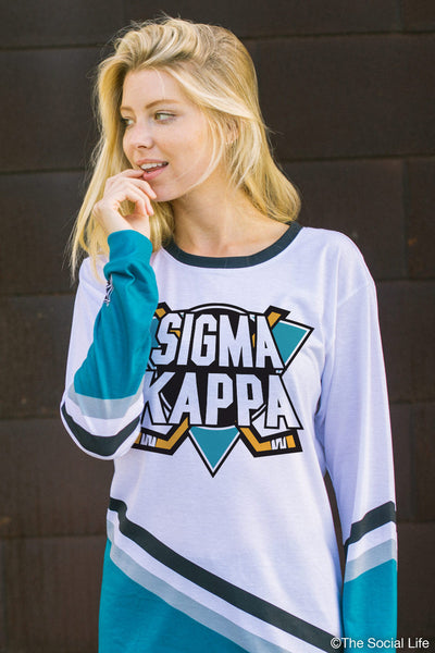 Sigma Kappa Mighty Hockey Long Sleeve