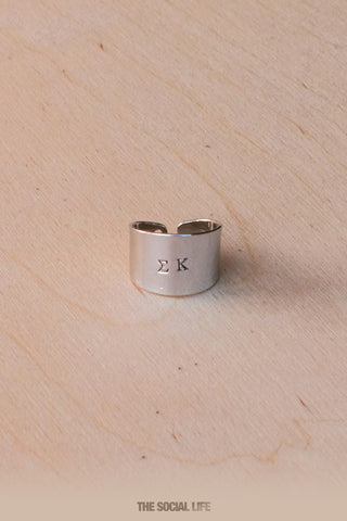 Sigma Kappa Custom Ring