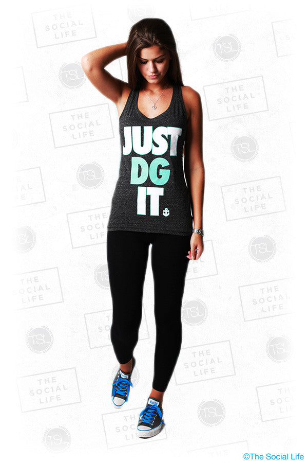 Just DG It Sporty Racerback