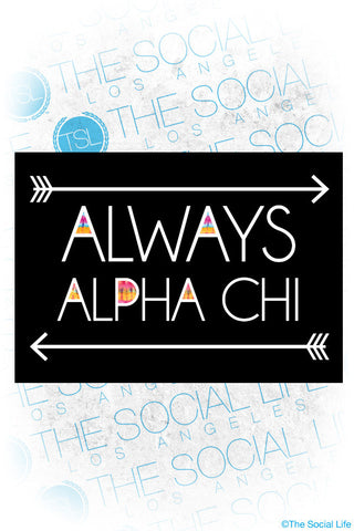 Always Alpha Chi