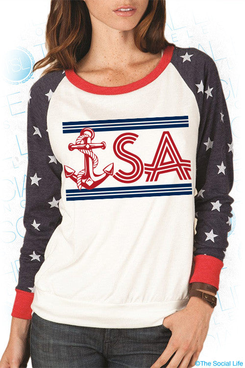 DG USA Slouchy Pullover