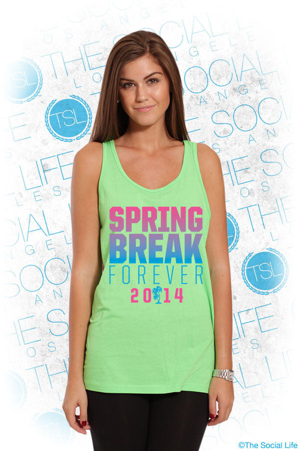 TriDelt Neon Spring Break Tank