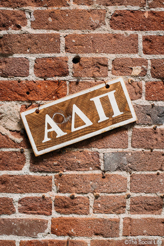 Alpha Delta Pi Letters Sign