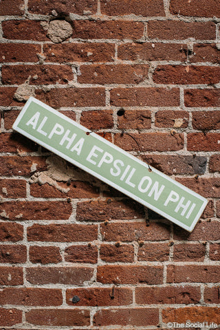 Alpha Epsilon Phi Vintage Sign