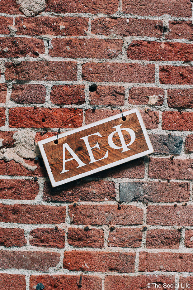 Alpha Epsilon Phi Letters Sign