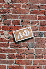 Alpha Phi Letters Sign