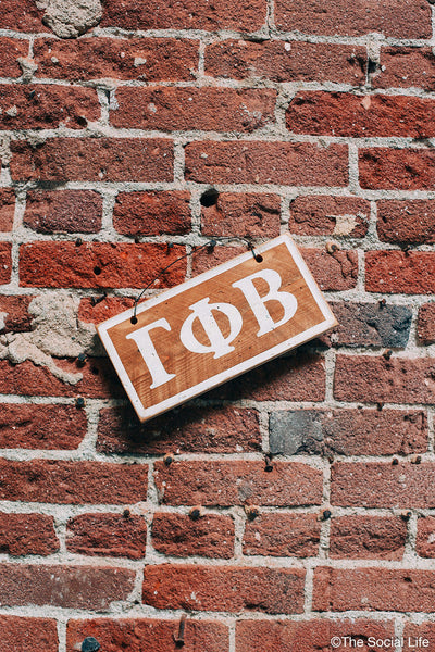 Gamma Phi Beta Letters Sign