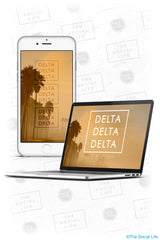 Tri Delta Wallpaper Pack 1