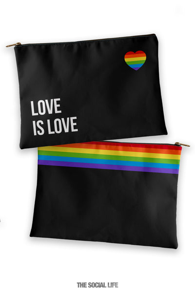 Love is Love Cosmetic Bag