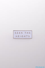 Seek the Heights Pin