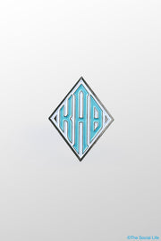 Kappa Alpha Theta Kite Monogram Pin