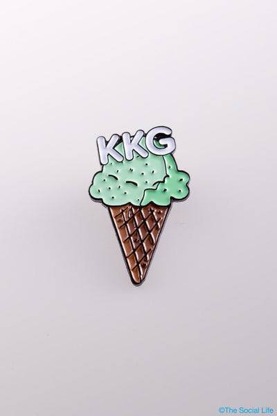 Kappa Kappa Gamma Mint Chip Pin