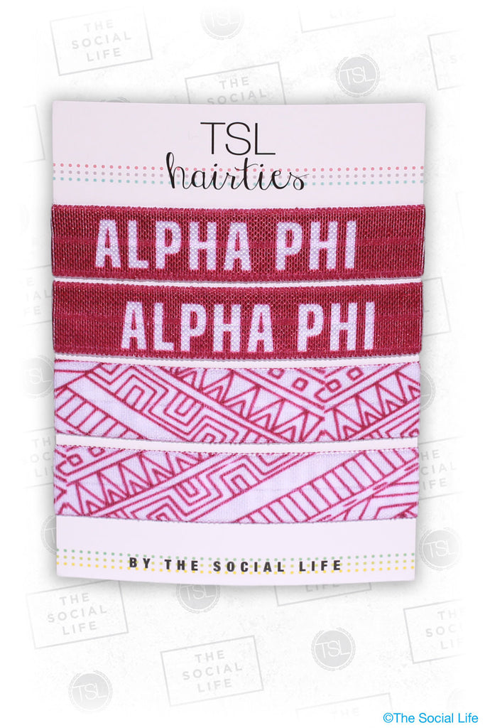 APHI - Tribal Pattern Hair Tie Pack