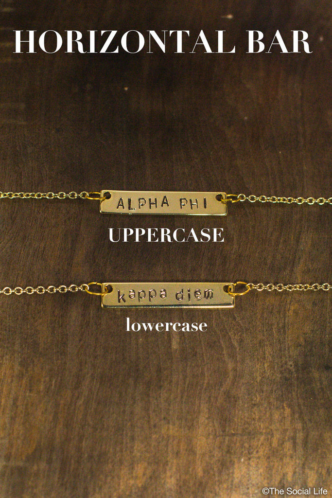 Alpha Phi Custom Necklace