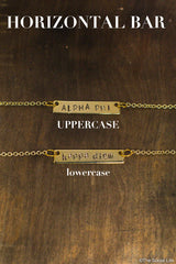Alpha Xi Delta Custom Necklace