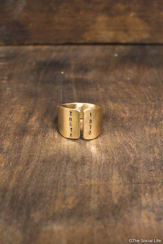 Theta 1870 Custom Ring