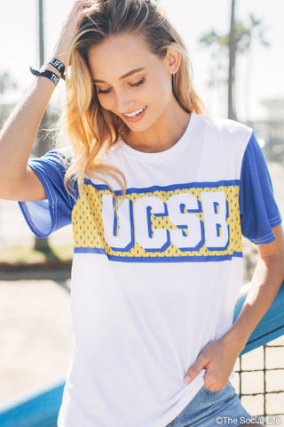 UCSB Gameday Jersey Tee