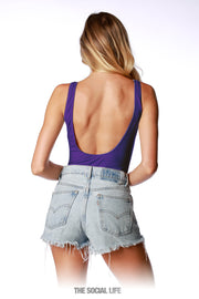 Game Day Bodysuit - Purple