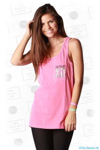 Love You Like XO Pocket Tank