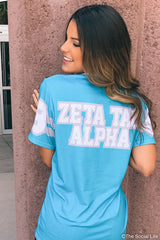 Zeta Tau Alpha Established Jersey Tee